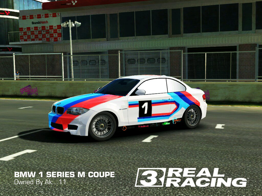 My Bmw 1 Series M Coupe Real Racing 3 Custom Livery Thoughts