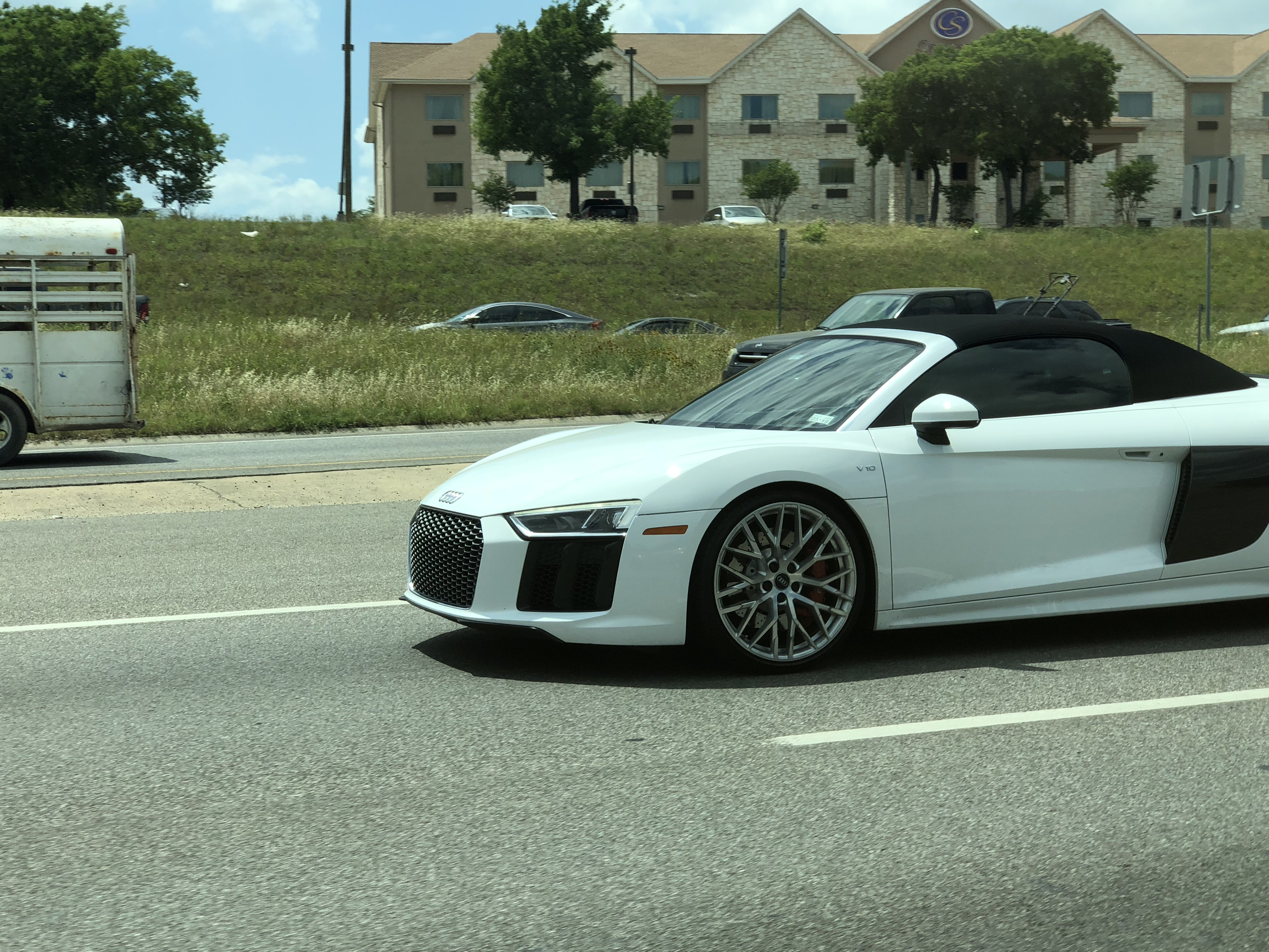 Spotted Audi R8