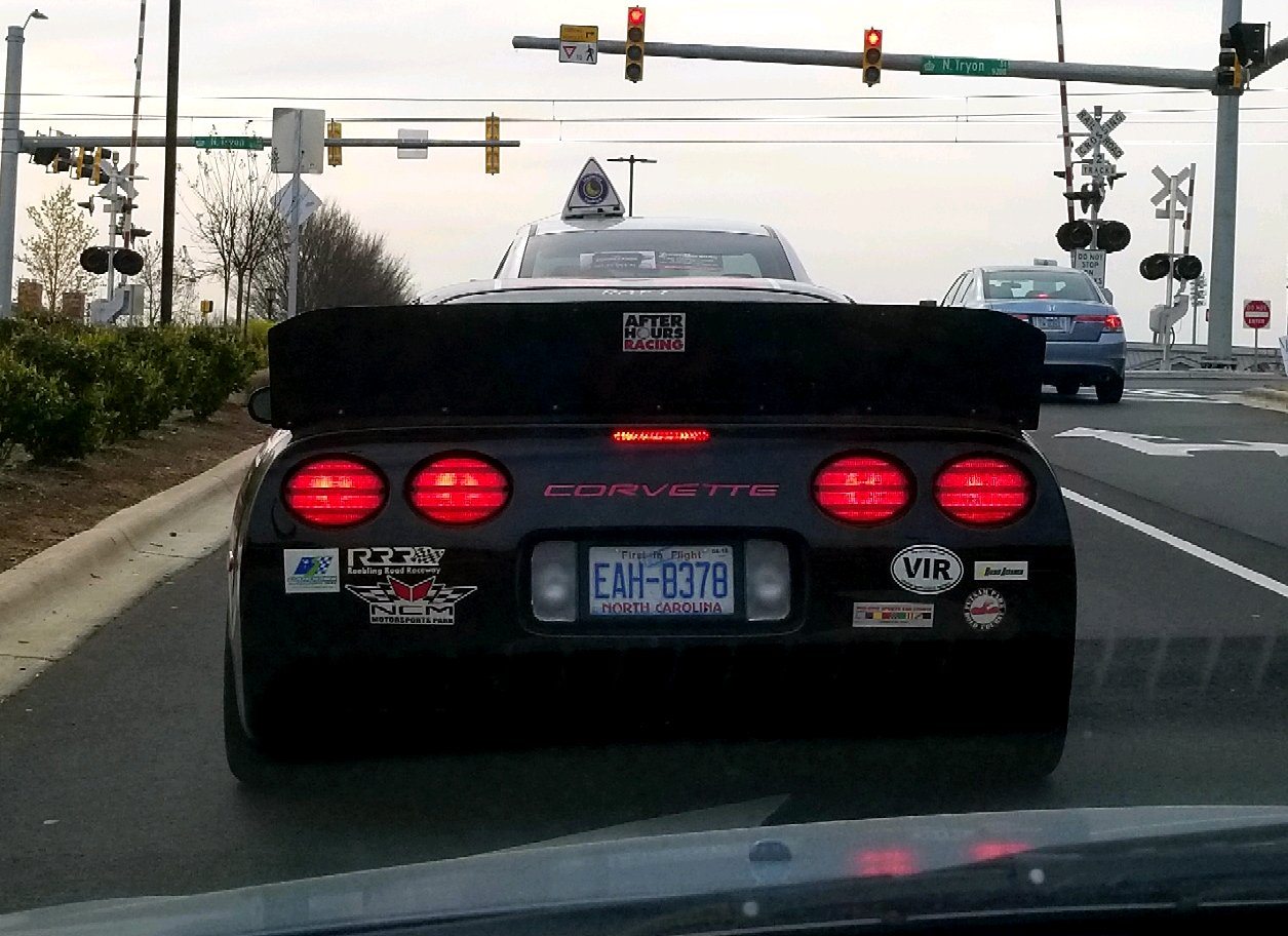 Spotted This C5 Corvette That Must Be Meant For Crazy Down Force