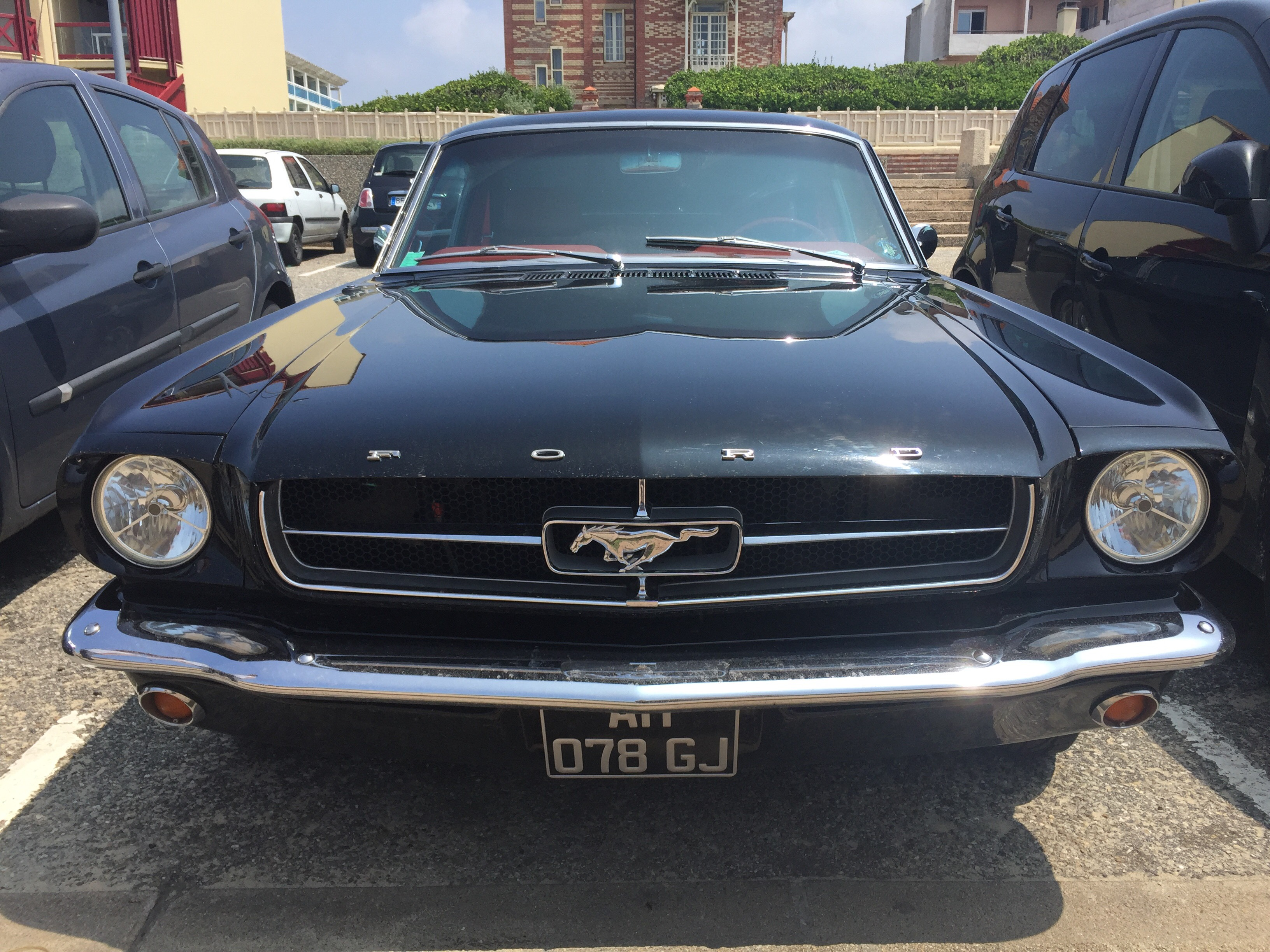 Old school ford mustang see with togram muscle