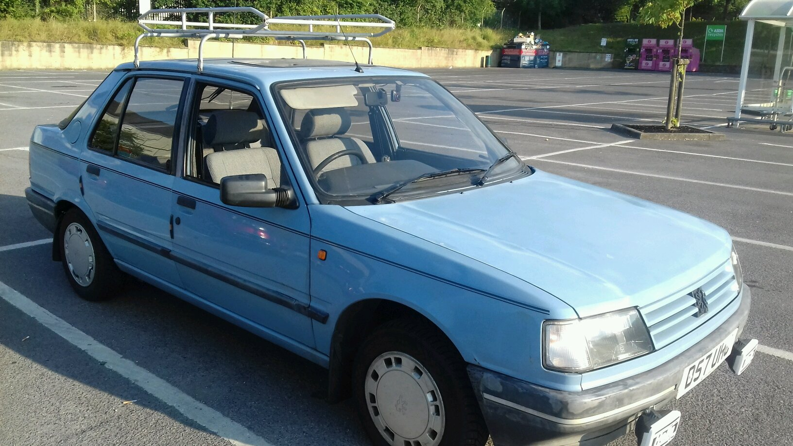 Peugeot 309 Gr Out After Having Spent A Few Months In The Garage Sorting Running Problems