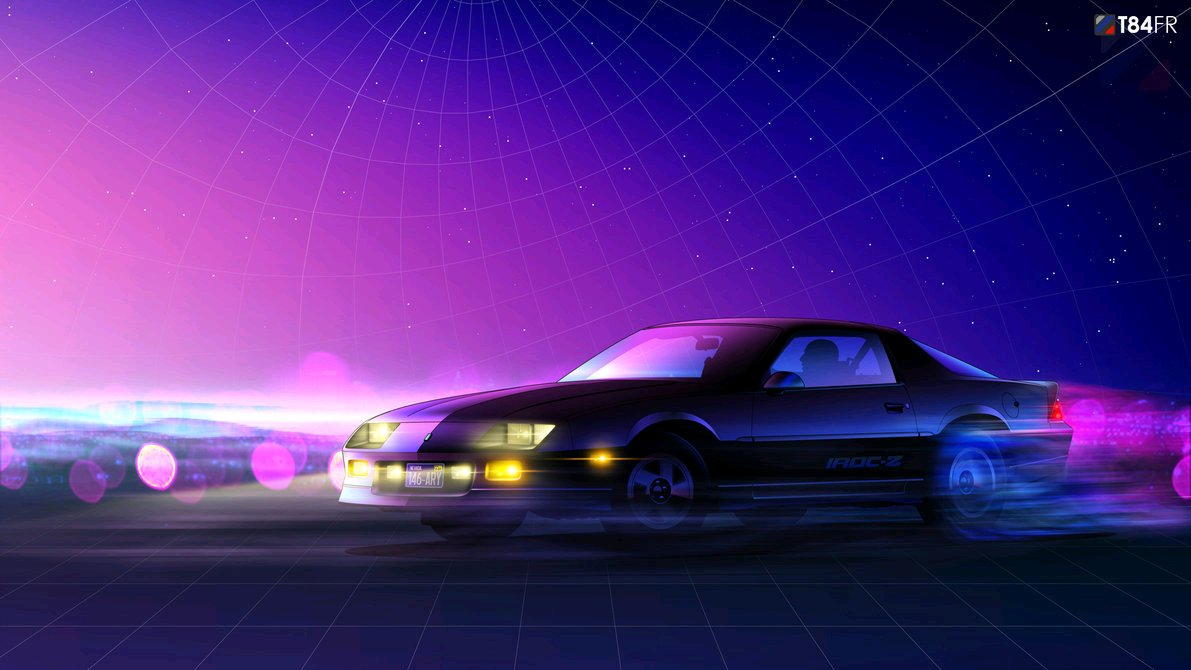 Some Of My Favorite Futuristic Nostalgia Electro Wave Car