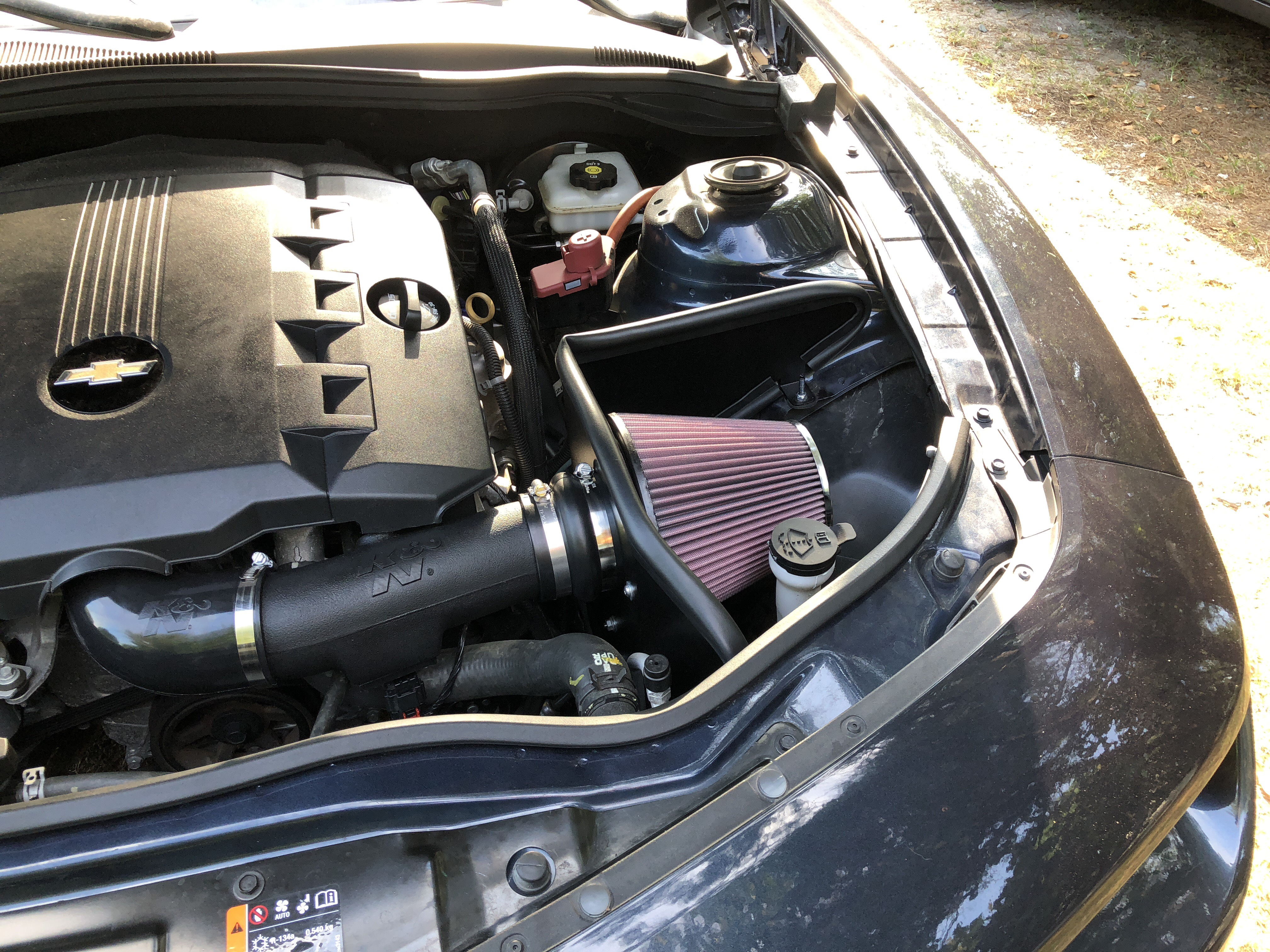 muscle car cold air intake   www.tollebild