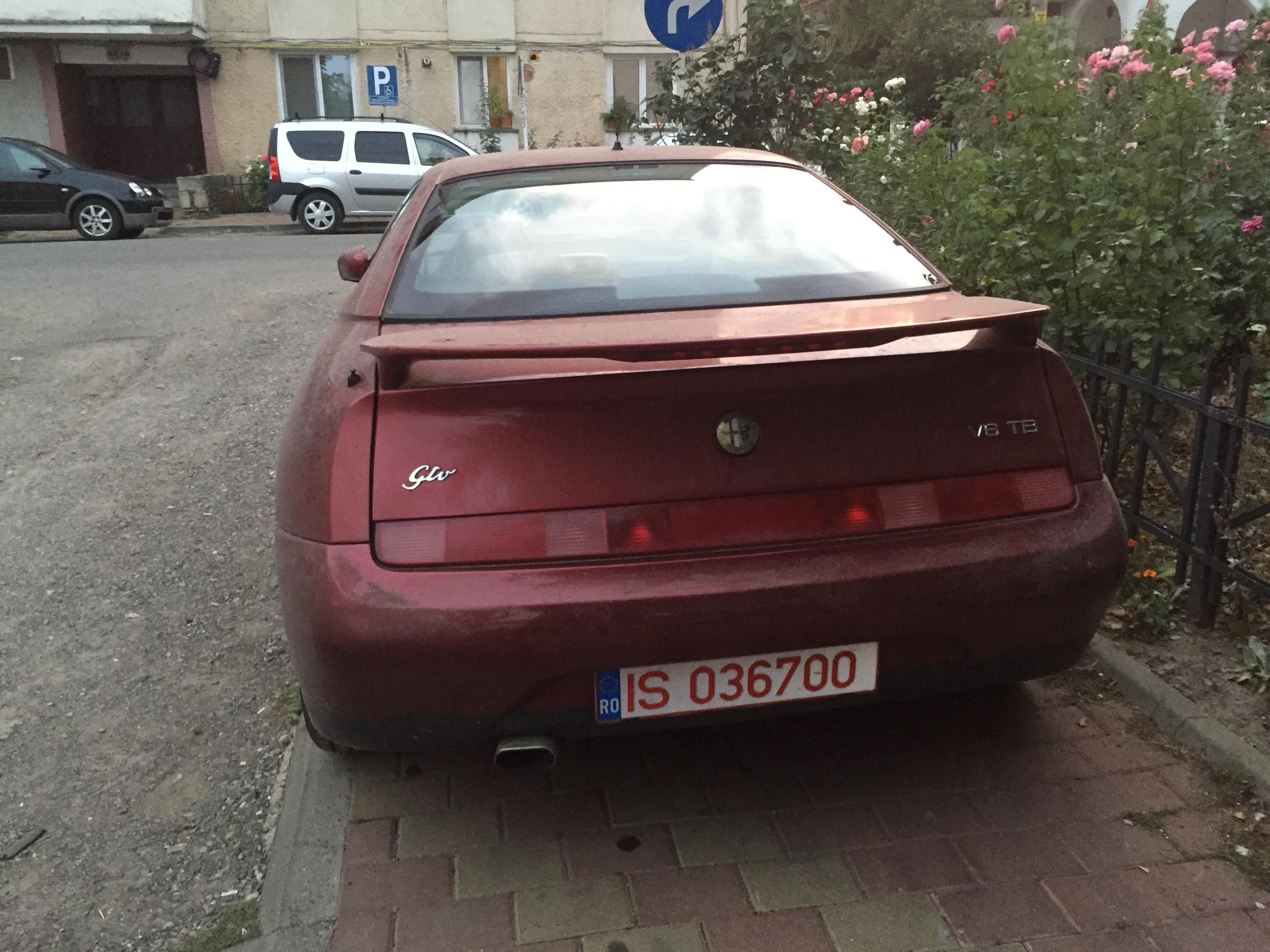 An Alfa Romeo V6 Gto