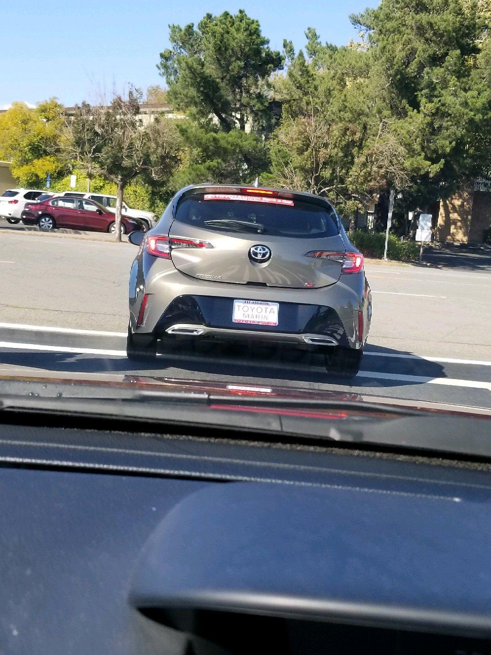 New Corolla Hatchback