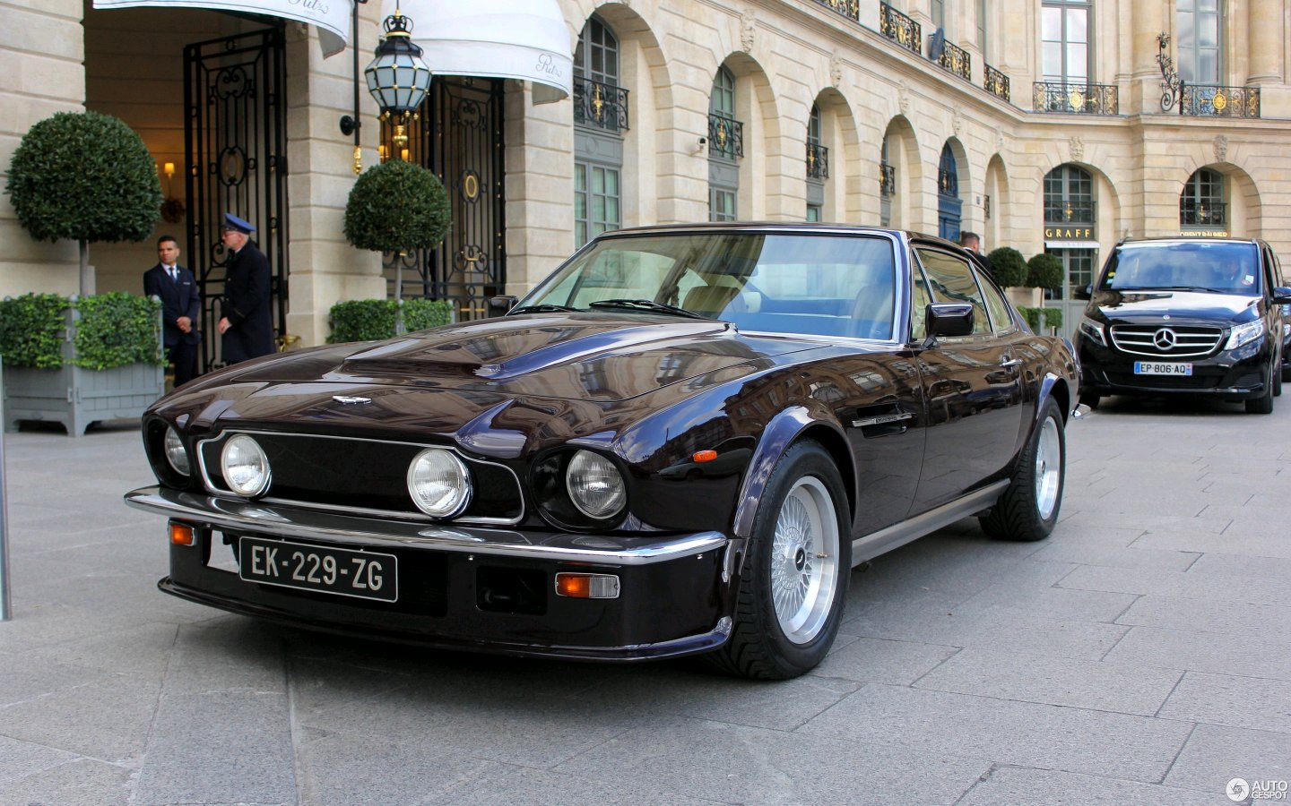 Why Does The Aston Martin V8 Vantage Look Like The Ford Mustang