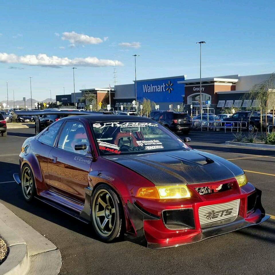 2WISTED would look sick with an evo front end