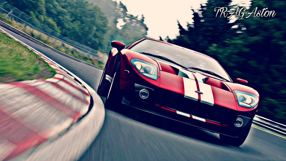 Ford The Ford Gt Reachs The Apex F F   Another One Of My Creations