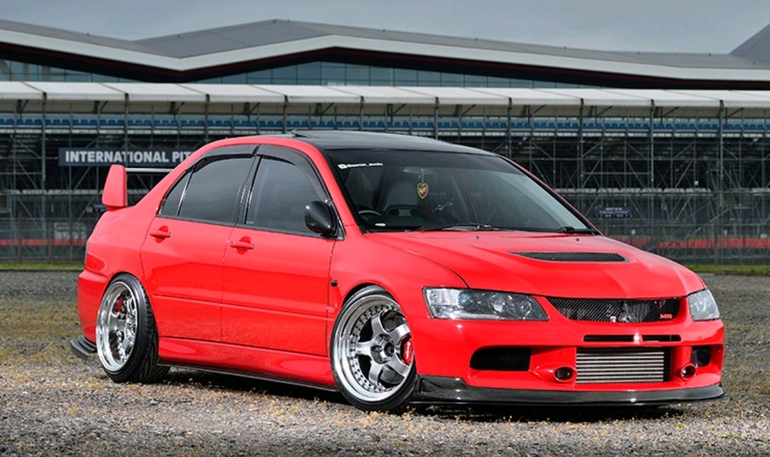 One Really Nice Mitsubishi Evo