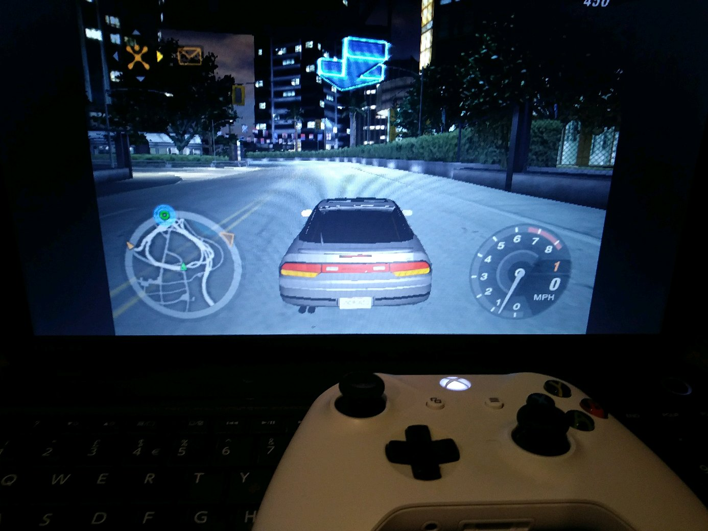 Nfsu2 Xbox One Controller
