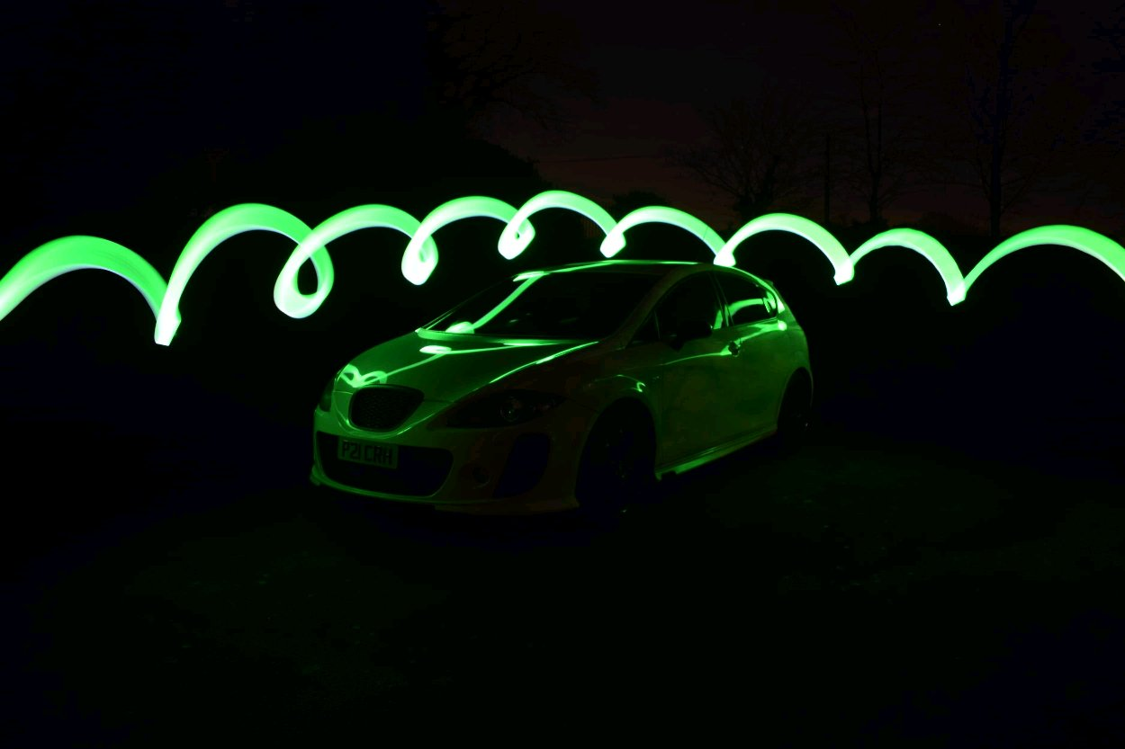 Few Long Exposure Shots Of My Car I Did The Other Night
