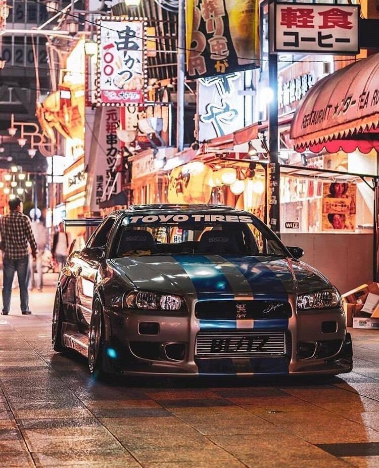 Fast Furious Nissan Skyline