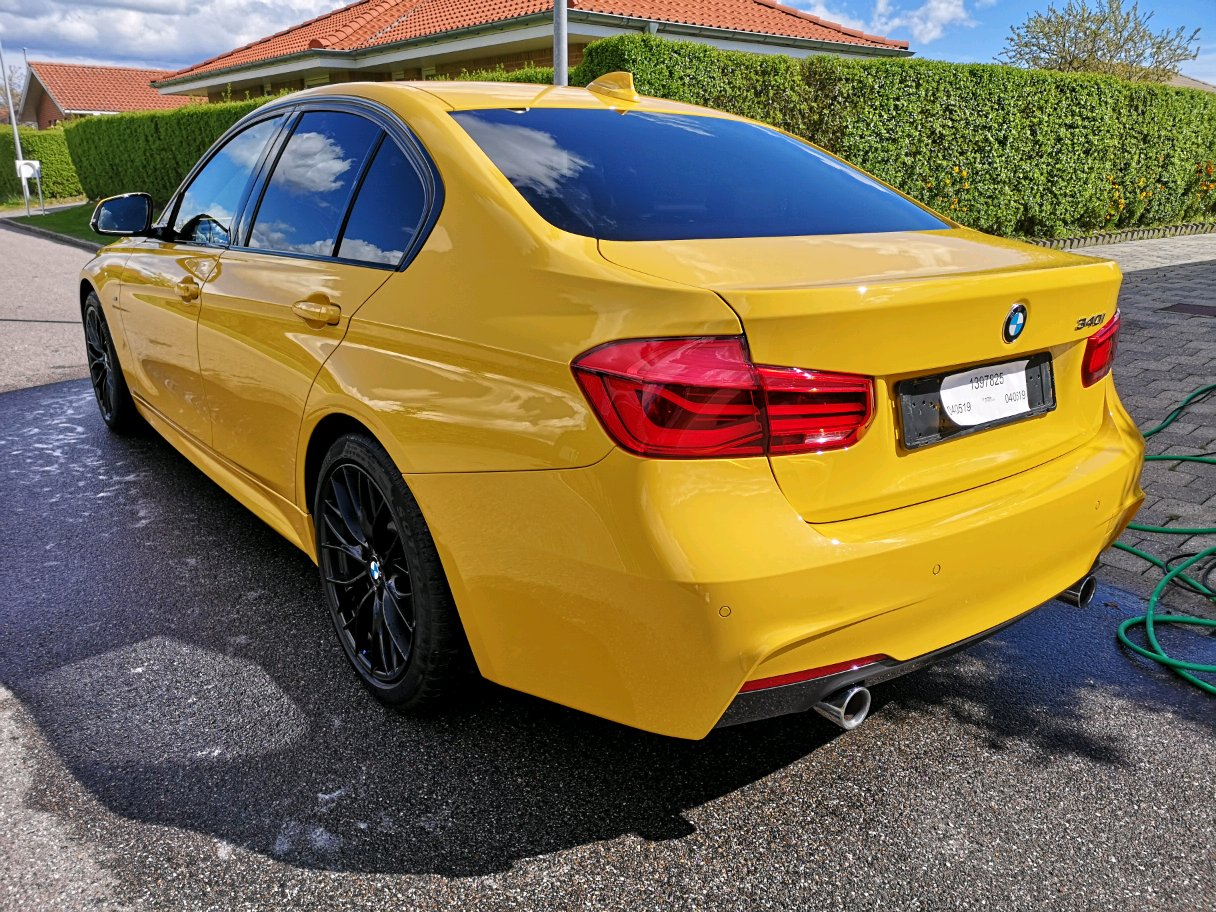 Damn Never Knew Gloss Yellow Would Suit An F30 So Freaking Much