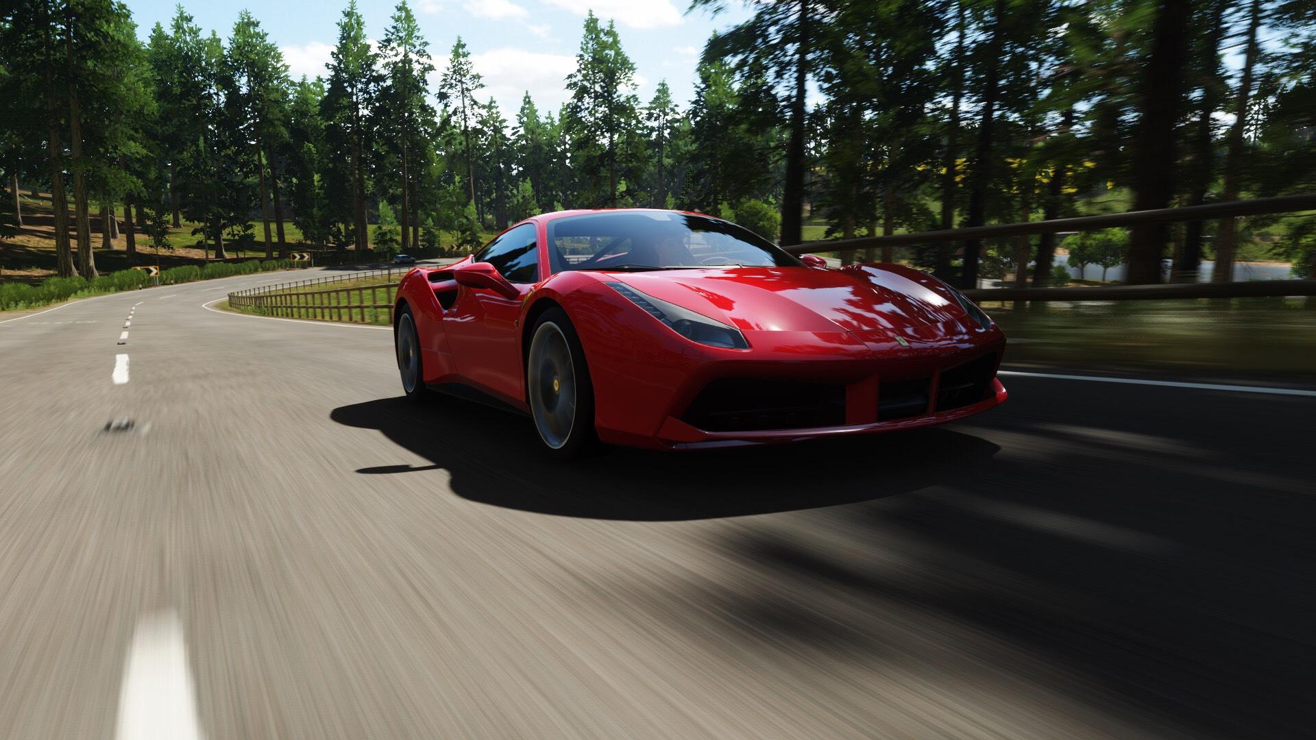 I Took This When Cruising In Forza Horizon 4