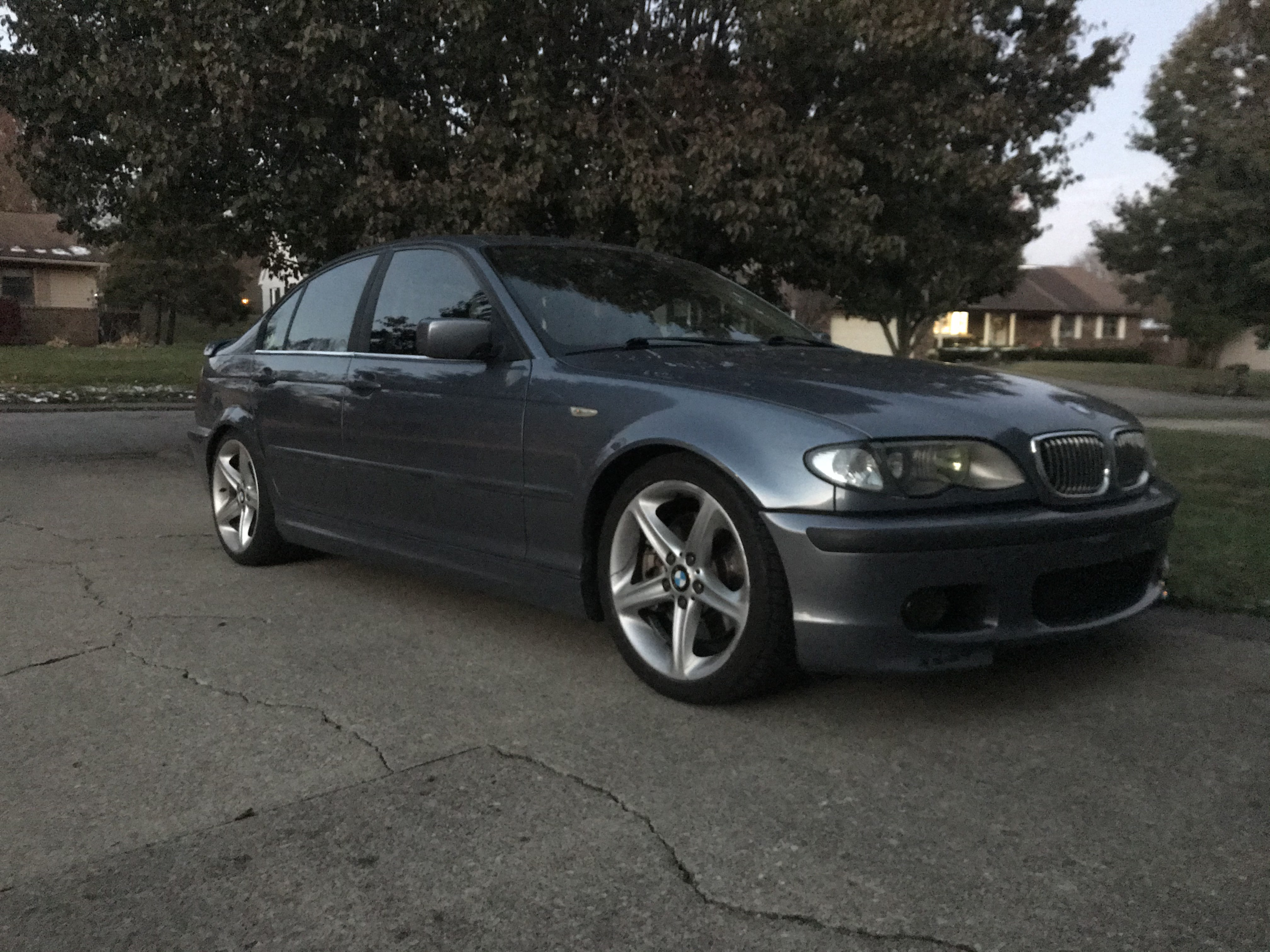 330i With Style 264 Wheels On Tc Kline Coilovers