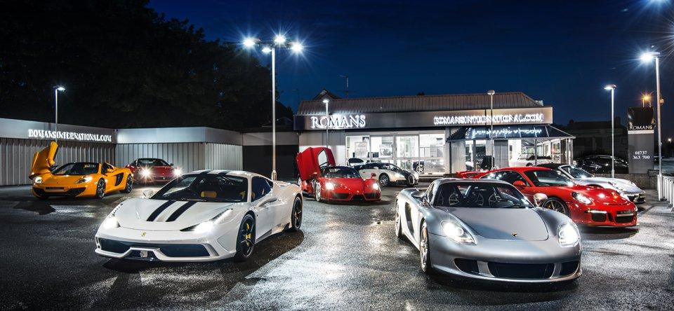 Romans international on car throttle for Garage ford romans
