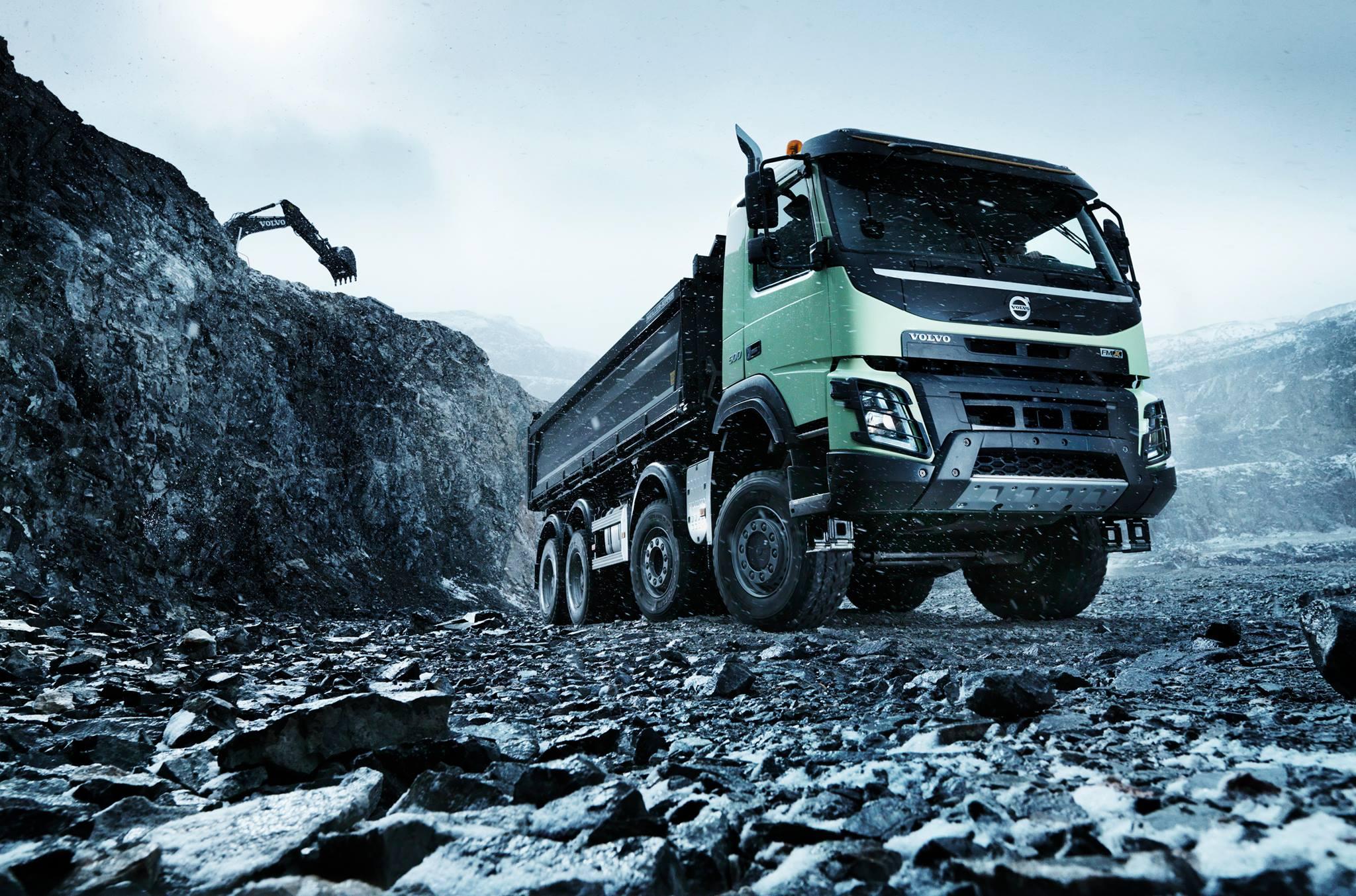 Volvo Trucks on Car Throttle